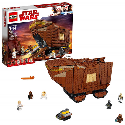 LEGO Star Wars: Sandcrawler - 1239 Piece Building Set [LEGO, #75220, Ages 9-14]