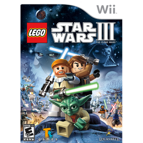 LEGO Star Wars III: The Clone Wars [Nintendo Wii]