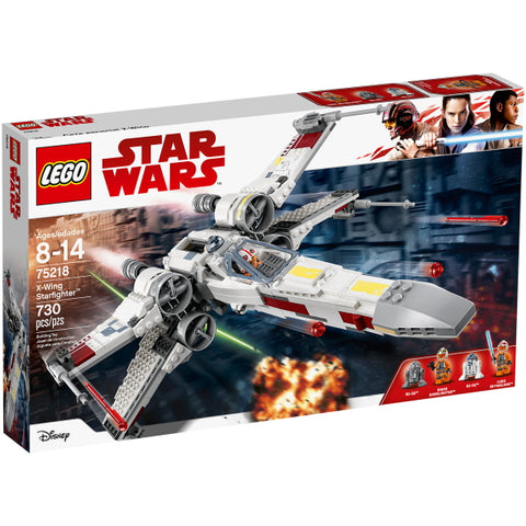 LEGO Star Wars: X-Wing Starfighter - 730 Piece Building Kit [LEGO, #75218, Ages 8-14]