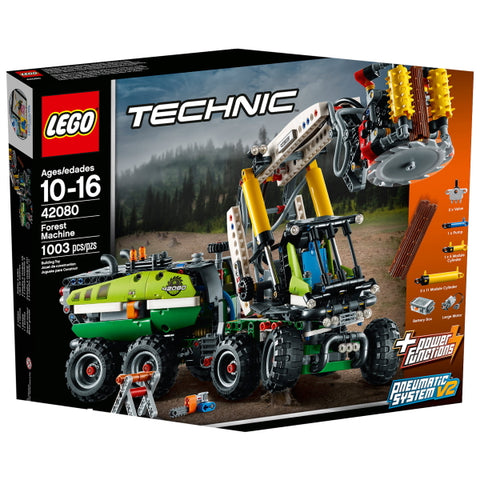 LEGO Technic: Forest Machine - 1003 Piece Building Kit [LEGO, #42080, Ages 10-16]