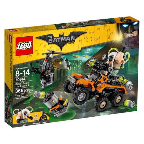 LEGO The Batman Movie: Bane Toxic Truck Attack - 366 Piece Building Kit [LEGO, #70914, Ages 8-14]