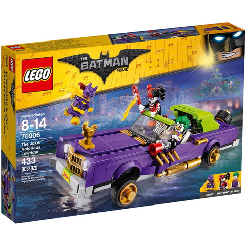 LEGO The Batman Movie: The Joker Notorious Lowrider - 433 Piece Building Set [LEGO, #70906, Ages 8-14]