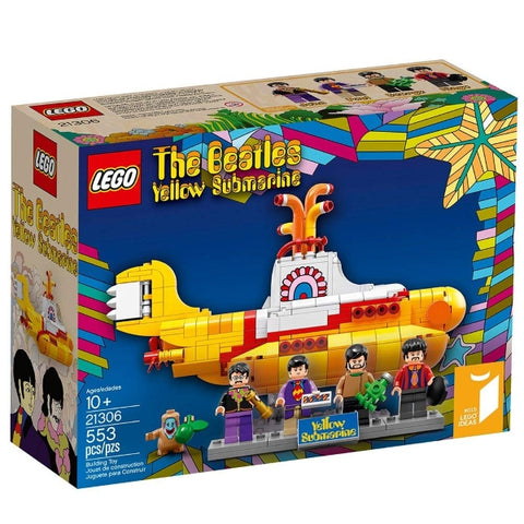 LEGO Ideas: The Beatles Yellow Submarine - 553 Piece Building Set [LEGO, #21306, Ages 10+]