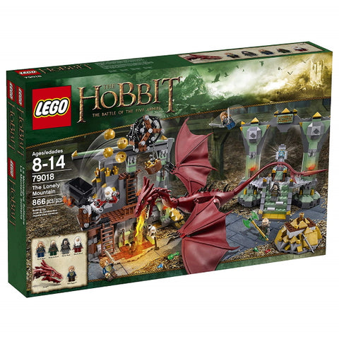 LEGO The Hobbit: The Battle of the Five Armies - The Lonely Mountain - 866 Piece Building Set [LEGO, #79018, Ages 8-14]