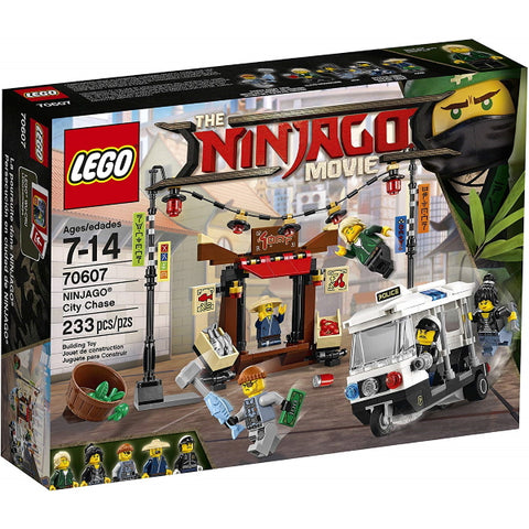 LEGO The Ninjago Movie: Ninjago City Chase - 233 Piece Building Set [LEGO, #70607, Ages 7-14]
