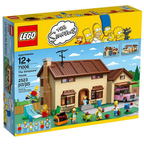 LEGO The Simpsons: The Simpsons House - 2523 Piece Building Set [LEGO, #71006, Ages 12+]