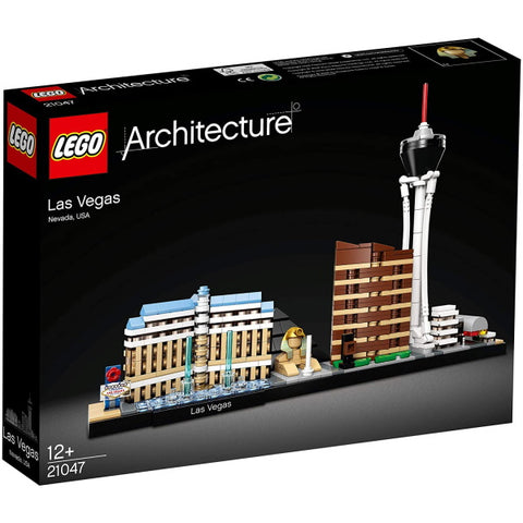 LEGO Architecture: Las Vegas - 501 Piece Building Kit [LEGO, #21047, Ages 12+]