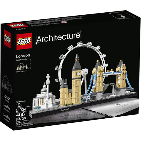 LEGO Architecture: London - 468 Piece Building Kit [LEGO, #21034, Ages 12+]