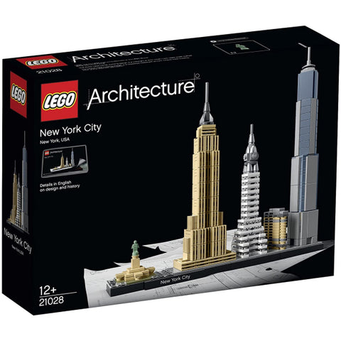 LEGO Architecture: New York City - 598 Piece Building Kit [LEGO, #21028, Ages 12+]