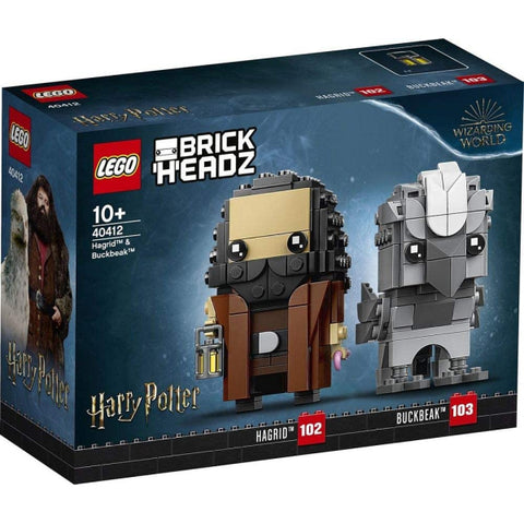 LEGO BrickHeadz: Harry Potter - Hagrid & Buckbeak - 270 Piece Building Kit [LEGO, #40412, Ages 10+]