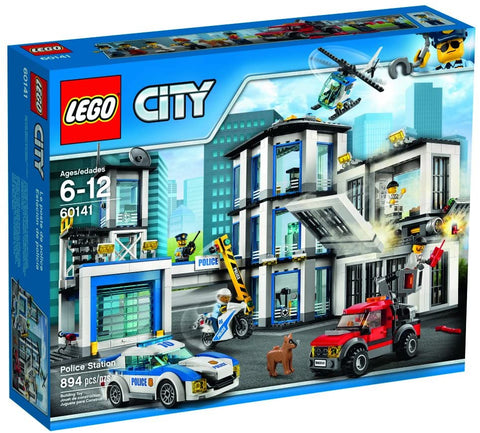 LEGO City: Police Station - 894 Piece Building Kit [LEGO, #60141, Ages 6-12]