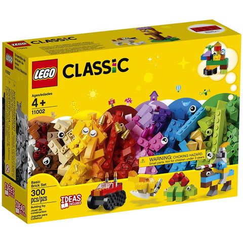 LEGO Classic: Basic Brick Set - 300 Piece Building Kit [LEGO, #11002, Ages 4+]