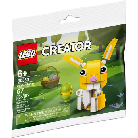 LEGO Creator:  Easter Bunny  - 67 Piece Building Kit [LEGO, #30550, Ages 6+]