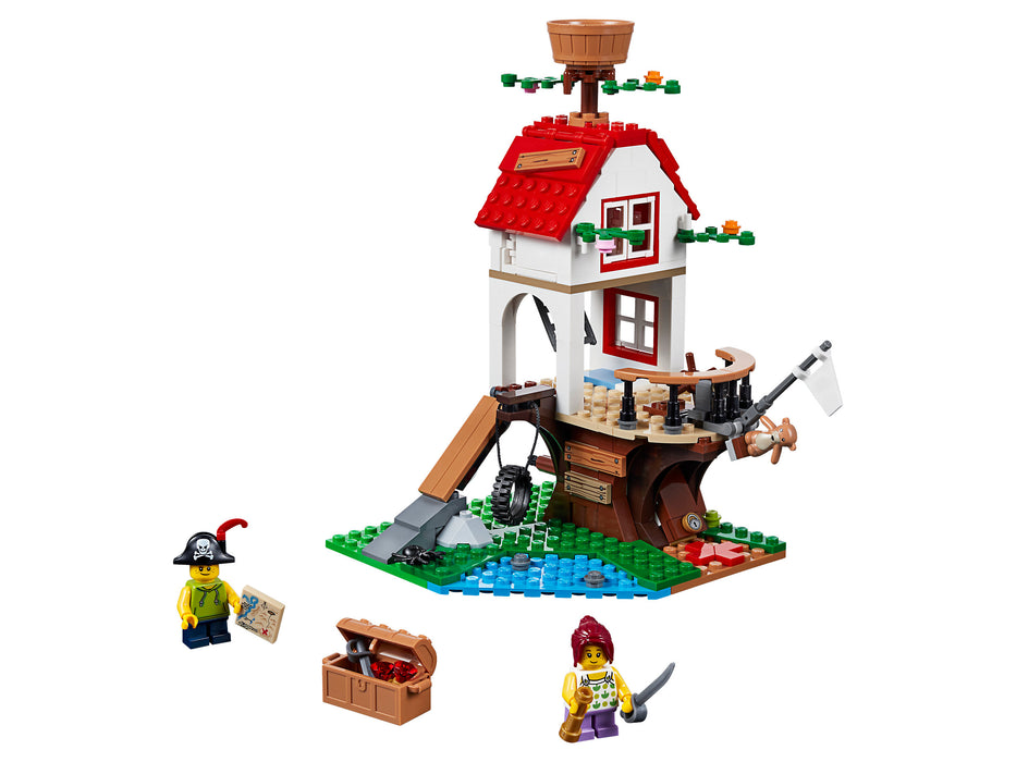 LEGO Creator: Treehouse Treasures  - 260 Piece Building Kit [LEGO, #31078, Ages 7-12]