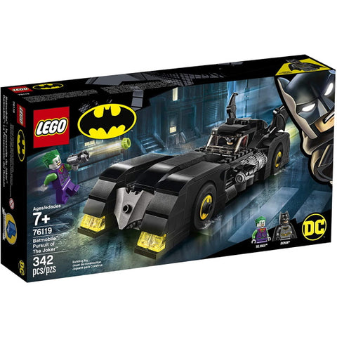 LEGO DC Batman: Batmobile - Pursuit of The Joker - 342 Piece Building Kit [LEGO, #76119, Ages 7+]