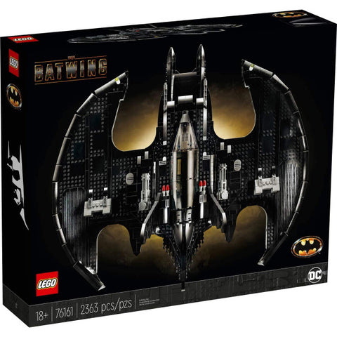 LEGO DC Comics Super Heroes: 1989 Batwing - 2363 Piece Building Kit [LEGO, #76161, Ages 18+]
