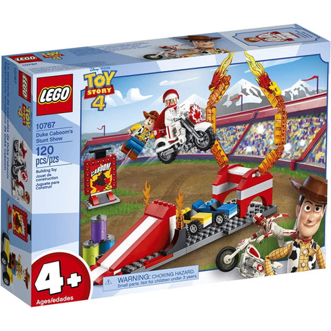 LEGO Disney Pixar's Toy Story 4: Duke Caboom's Stunt Show - 120 Piece Building Kit [LEGO, #10767, Ages 4+]