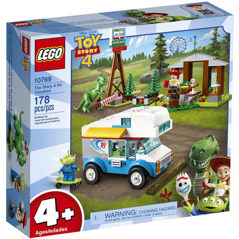 LEGO Disney Pixar's Toy Story 4: RV Vacation - 178 Piece Building Kit [LEGO, #10769, Ages 4+]
