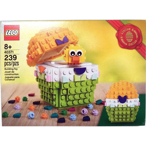 LEGO Easter Egg - Limited Edition - 239 Piece Building Kit [LEGO, #40371, Ages 8+]
