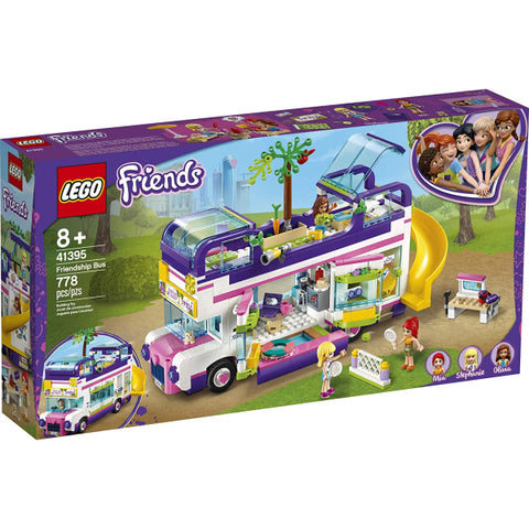 LEGO Friends: Friendship Bus  - 778 Piece Building Kit [LEGO, #41395, Ages 8+]