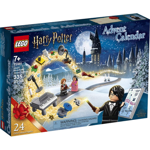 LEGO Harry Potter: Advent Calendar - 335 Piece Building Kit [LEGO, #75981, Ages 7+]