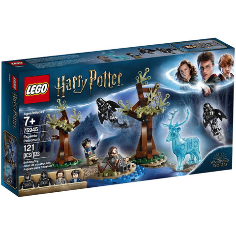LEGO Harry Potter: Expecto Patronum - 121 Piece Building Kit [LEGO, #75945, Ages 7+]