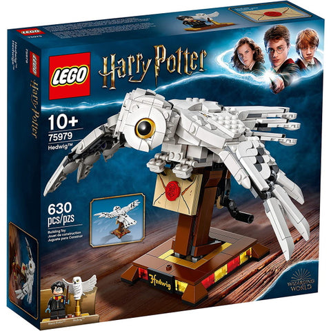 LEGO Harry Potter: Hedwig - 630 Piece Building Kit [LEGO, #75979, Ages 10+]