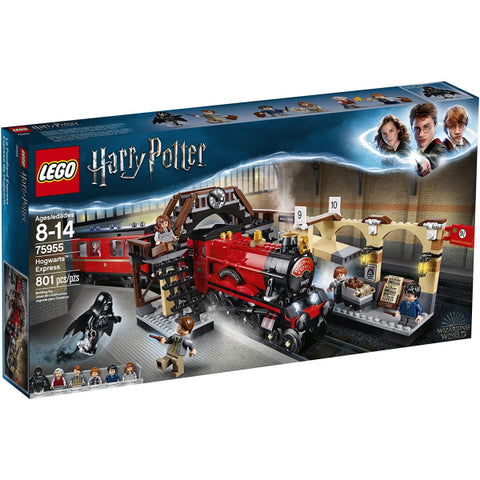 LEGO Harry Potter: Hogwarts Express - 801 Piece Building Kit [LEGO, #75955, Ages 8-14]