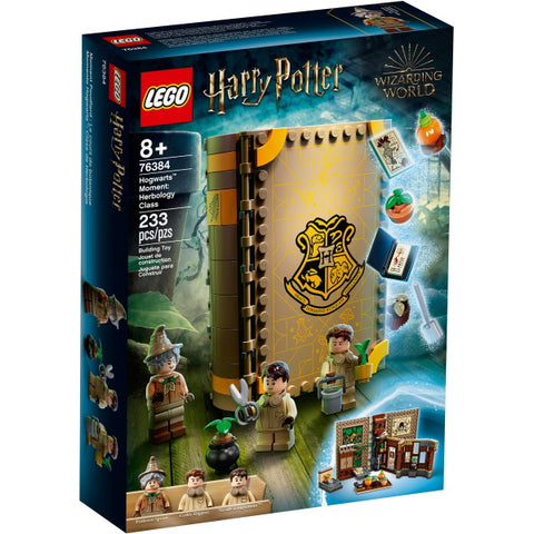 LEGO Harry Potter: Hogwarts Moment - Herbology Class - 233 Piece Building Kit [LEGO, #76384, Ages 8+]