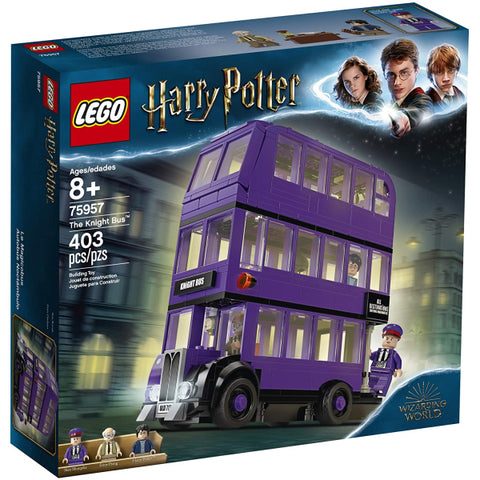 LEGO Harry Potter: The Knight Bus - 403 Piece Building Kit [LEGO, #75957, Ages 8+]