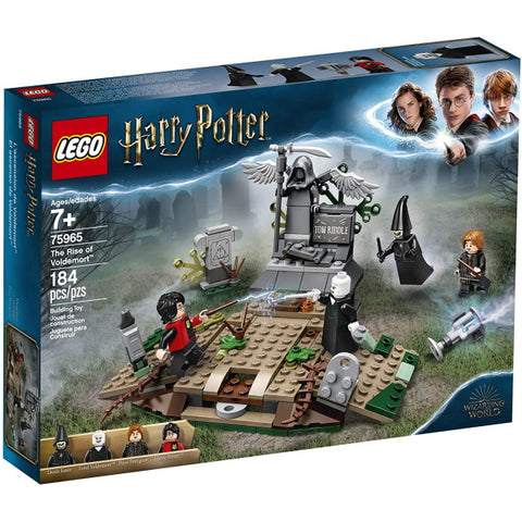 LEGO Harry Potter: The Rise of Voldemort - 184 Piece Building Kit [LEGO, #75965, Ages 7+]