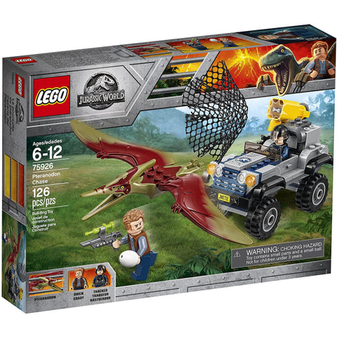 LEGO Jurassic World: Pteranodon Chase - 126 Piece Building Kit [LEGO, #75926, Ages 6-12]