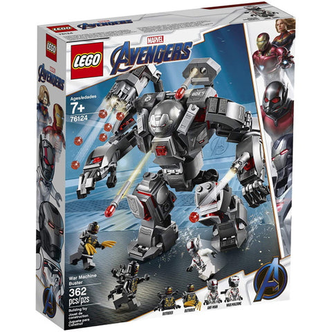 LEGO Marvel Avengers: War Machine Buster - 362 Piece Building Kit [LEGO, #76124, Ages 7+]