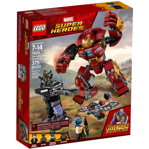 LEGO Marvel Super Heroes: The Hulkbuster Smash-Up - 375 Piece Building Kit [LEGO, #76104, Ages 7-14]