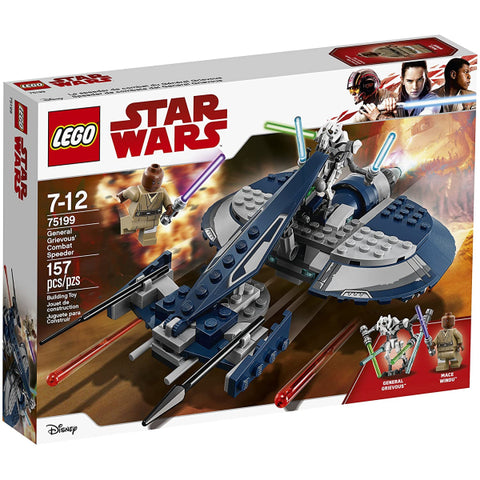 LEGO Star Wars: General Grievous' Combat Speeder - 157 Piece Building Set [LEGO, #75199, Ages 7-12]
