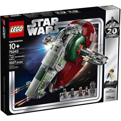 LEGO Star Wars: Slave l - 20th Anniversary Edition - 1007 Piece Building Kit [LEGO, #75243, Ages 10+]