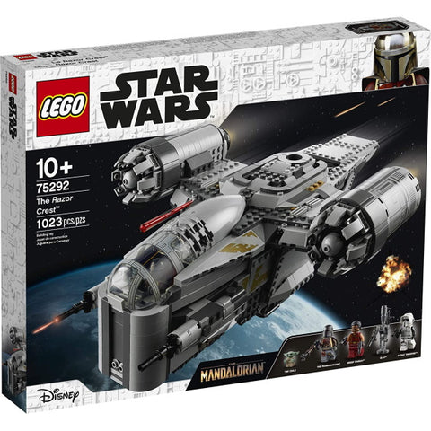 LEGO Star Wars: The Razor Crest - 1023 Piece Building Kit [LEGO, #75292, Ages 10+]