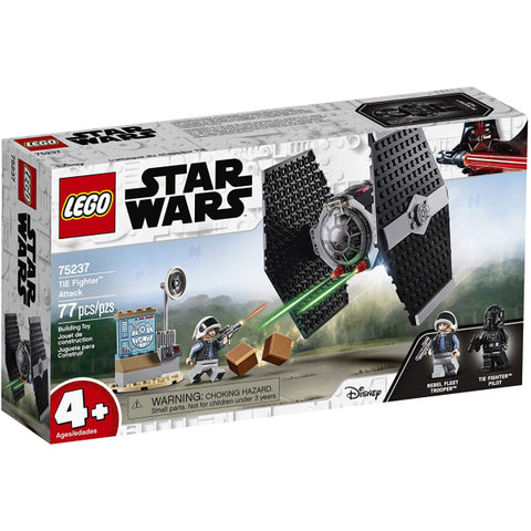 LEGO Star Wars: TIE Fighter Attack - 77 Piece Building Set [LEGO, #75237, Ages 4+]
