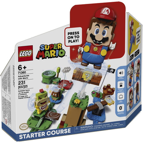 LEGO Super Mario: Adventures with Mario Starter Course - 231 Piece Building Kit [LEGO, #71360, Ages 6+]