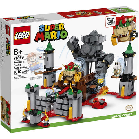LEGO Super Mario: Bowser's Castle Boss Battle Expansion - 1010 Piece Building Kit [LEGO, #71369, Ages 8+]