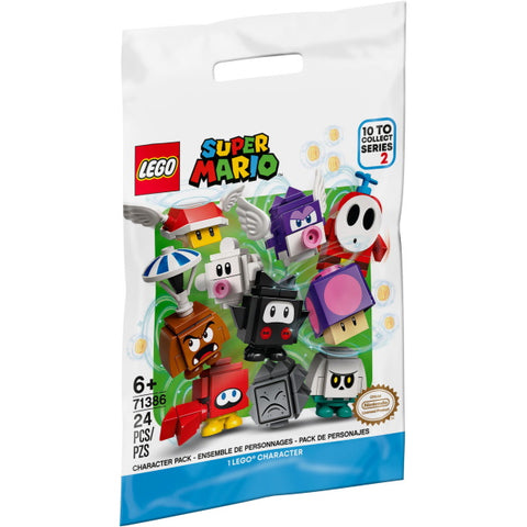 LEGO Super Mario: Character Packs - Series 2 - 24 Piece Building Kit [LEGO, #71386, Ages 6+]