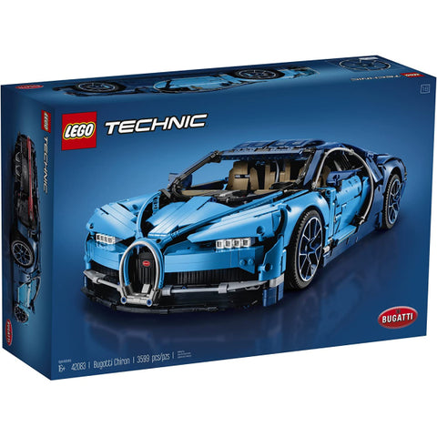 LEGO Technic: Bugatti Chiron - 3599 Piece Building Kit [LEGO, #42083, Ages 16+]