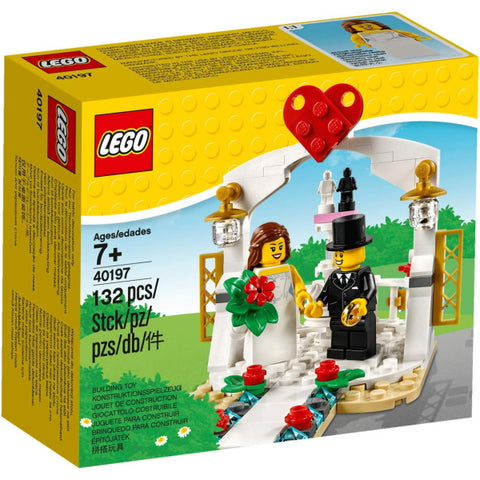 LEGO Wedding Favor Set 2018 - 132 Piece Building Set [LEGO, #40197, Ages 7+]