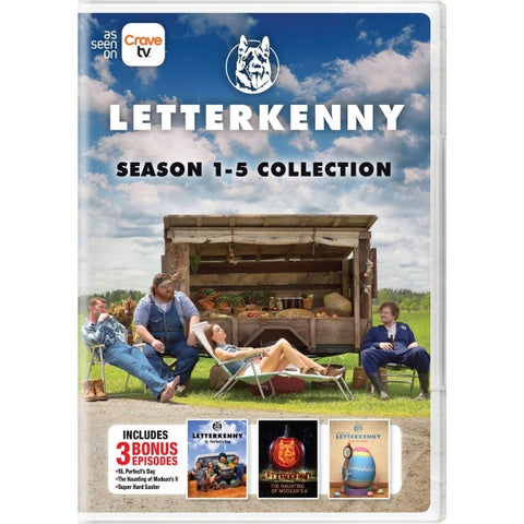 Letterkenny: Season 1-5 Collection [DVD Box Set]
