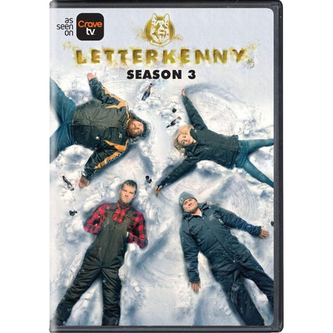Letterkenny - Season 3 [DVD Box Set]