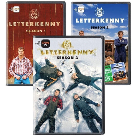 Letterkenny - Seasons 1-3 [DVD Box Set]