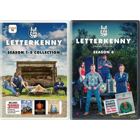 Letterkenny: Complete Seasons 1-5 + 6 Collection [DVD Box Set]