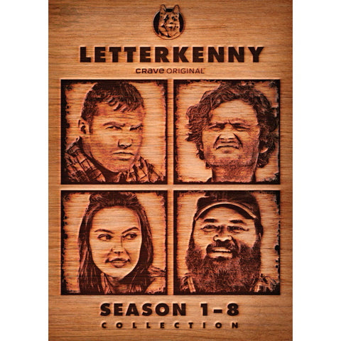 Letterkenny: Season 1-8 Collection [DVD Box Set]