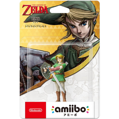 Link (Twilight Princess) Amiibo - The Legend of Zelda Series [Nintendo Accessory]
