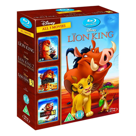 Disney's The Lion King Trilogy [Blu-Ray Box Set]